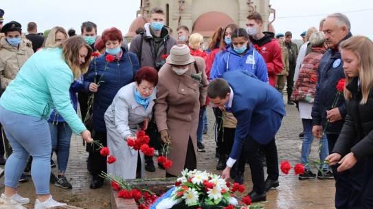 48 бойцов и командиров Красной Армии перезахоронили